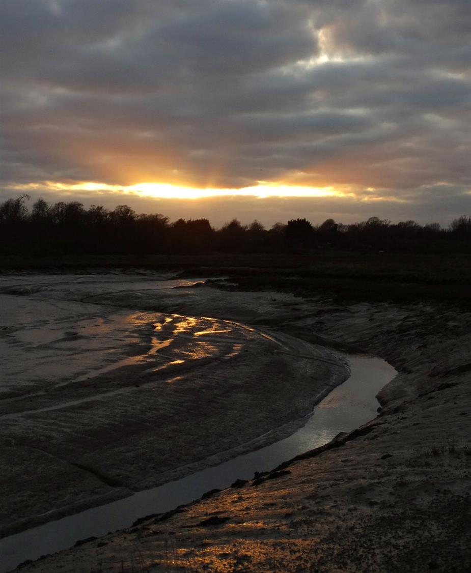 St Osyth Creek - Marsh