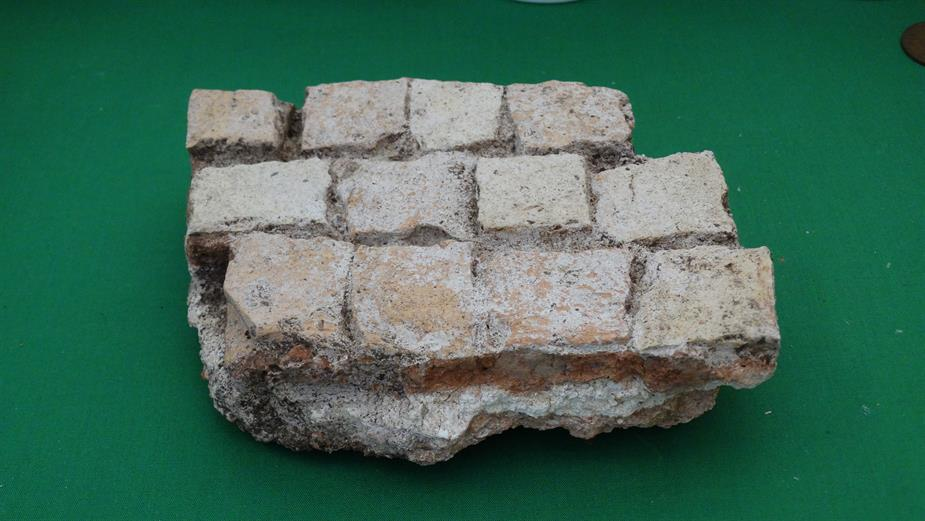 Section of Roman Pavement